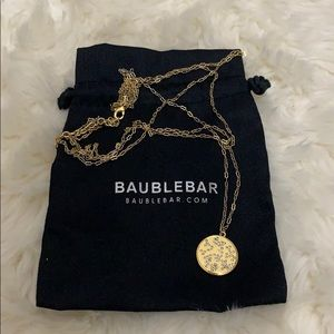 BaubleBar Coin Necklace